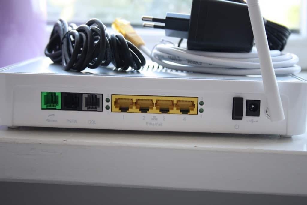 Telia router porte